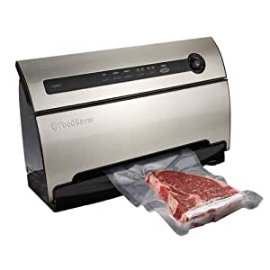 FoodSaver V3835 Automatic Vacuum Sealing System with SmartSeal Technology