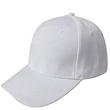 dcf5c0bca2e3bd Amazon.com: Clearance ! Hot Sale! Charberry Mens Baseball Cap Blank Hat  Solid Color Adjustable Hat (White): Baby