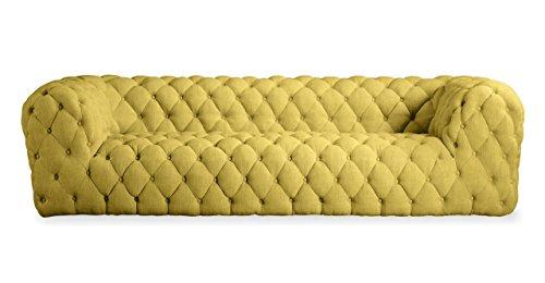 Kardiel Cumulus Mid-century Modern Tufted Sofa, Atomic Moss Vintage Twill