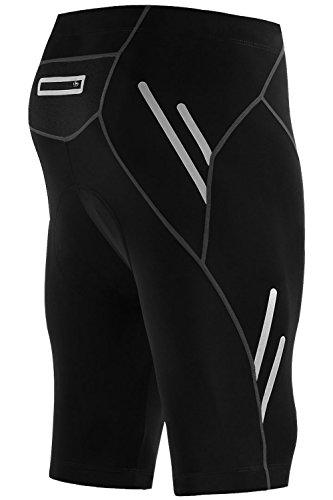 支出段階リゾートMr.Streamメンズ抗紫外線UPF50+ 5分丈ショートレーサーパンツ自転車ショーツ タイツ速乾ハーフ サイクルパンツ