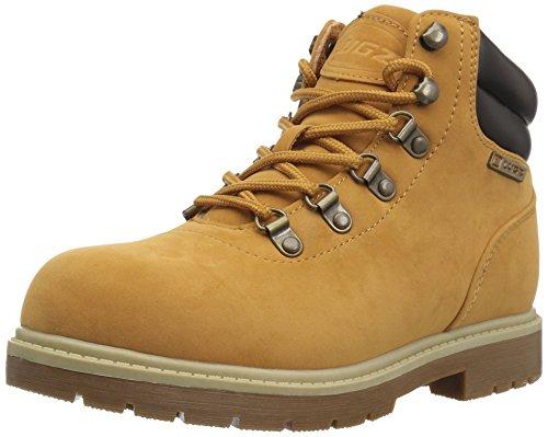 Lugz Men's Briarwood Mid Fashion Boot, Golden wheat/bark/cream/gum, 11.5 D US