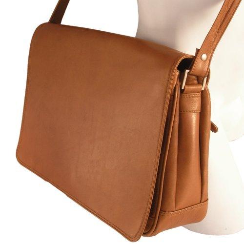 véritable 5584 en bandoulière main Sac Cognac Branco différentes taille Marron sac à à femme couleurs cuir M 4zw86