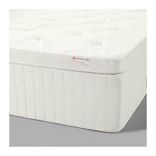 IKEA Spring mattress white, medium firm, King size 1028.22314.1434