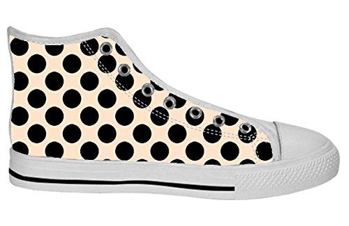 Kvinnor Canvas Kängor Konstdesignmönster Shoes38
