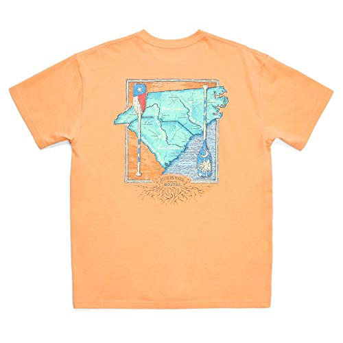 River Routes Collection - North Carolina and South Carolina, Melon, Medium