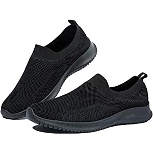 EVGLOW Loafer Shoes for Women - Slip on Memory Foam Lightweight Sneakers