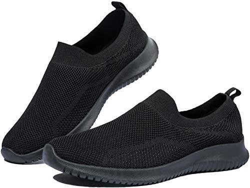 EVGLOW Loafer Shoes for Women - Slip on Memory Foam Lightweight Sneakers