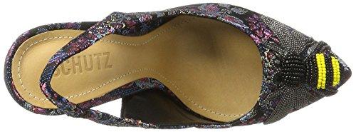 Schutz Women's Shoes Slingback Courts Mehrfarbig (Multi) E4wCaB