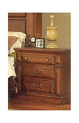 Night Stand in Antique Pine Finish