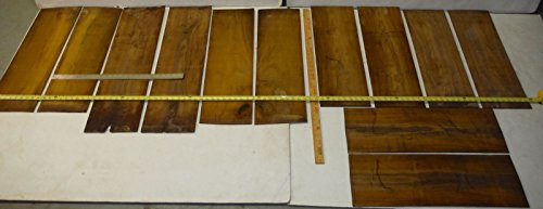 6 sets=12 pieces bookmatched, kiln dried cocobolo rosewood, 31'' long x 9'' wide by Diamond Tropical Hardwoods