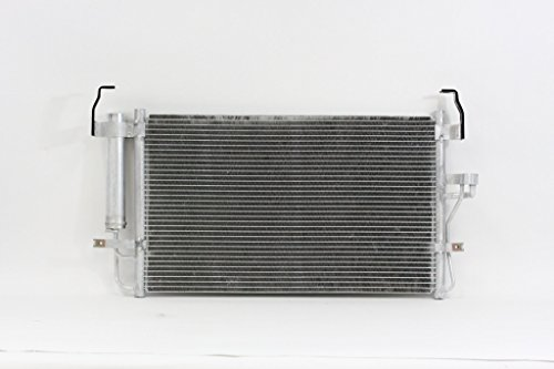A/C Condenser - Pacific Best Inc For/Fit 3084 01-06 Hyundai Elantra 03-08 Tiburon WITH Dryer & Receiver