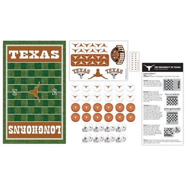 NCAA Texas Longhorns Checkers, Gray, Small ()