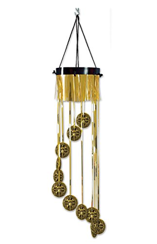 12 Metallic Gold Pirate Doubloon Spiral Hanging Birthday Party Decorations 40