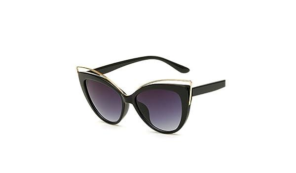 Amazon.com: Retro cat eye lady sunglasses for men women ...
