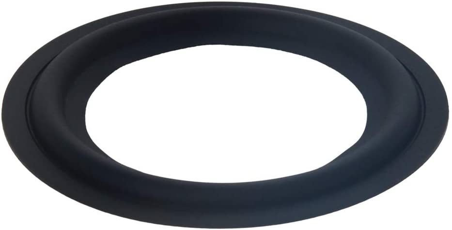 Fielect 3.5inches Speaker Foam Edge Surround Rings Replacement Parts for Speaker Repair or DIY 1Pcs