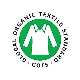 Burt\'s Bees Baby - Crib Skirt, 100% Organic Crib Skirt for Standard Crib and Toddler Mattresses (Blueberry)