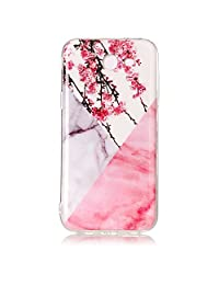 NEXCURIO Galaxy J3 Emerge/Express Prime 2/Amp Prime 2/J3 Luna Pro/J3 Prime Case Marble Soft Silicone Shockproof Scratch Resistant Protective Cover for Samsung Galaxy J3 (2017) - YHU102191#5