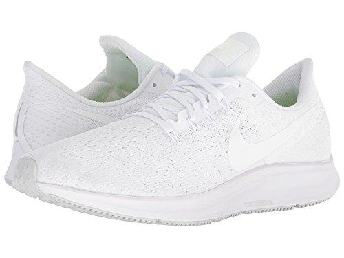 [NIKE(ナイキ)] メンズランニングシューズ?スニーカー?靴 Air Zoom Pegasus 35 White/Summit White/Pure Platinum 15 (33.cm) D - Medium