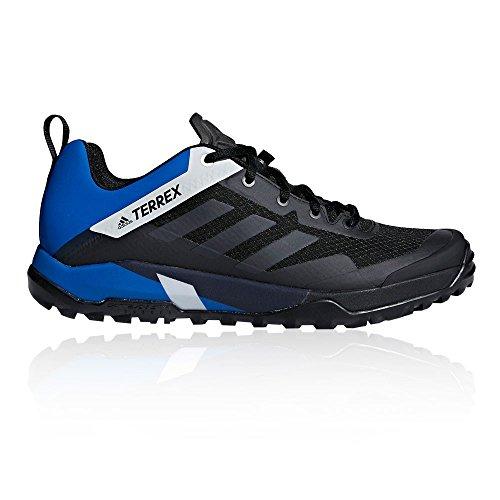 Adidas Heren Terrex Pad Dwars Sl Traillaufschuhe Zwart (cblack / Koolstof / Blubea Cblack / Carbon / Blubea)