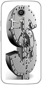Snoogg Money Bank Designer Protective Back Case Cover For Moto G 2Nd Genration