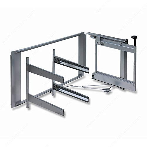 Frame for Magic Corner II System, For hinged- door cabinet applications., Width 962 to 1 171 mm, Opening Right by handyct