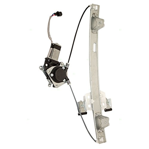 Passengers Rear Power Window Lift Regulator with Motor Assembly Replacement for Ford Extended Cab Pickup Truck AL3Z1827000A AutoAndArt