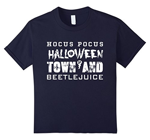Kids Halloween Town And Beetle Juice T-Shirt Funny Halloween Tee 12 (Halloween Juice Ideas)