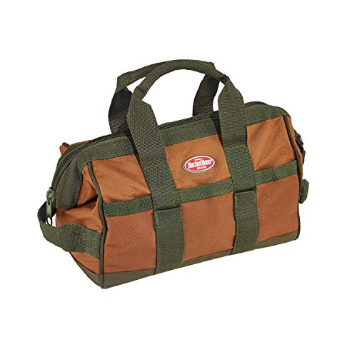 Bucket Boss Gatemouth 12 Tool Bag in Brown, 60012