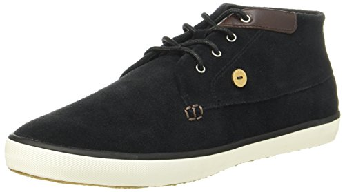 Black UK Black 8 Top Adults' Faguo Trainers F Wattle Unisex Hi qFFfYw