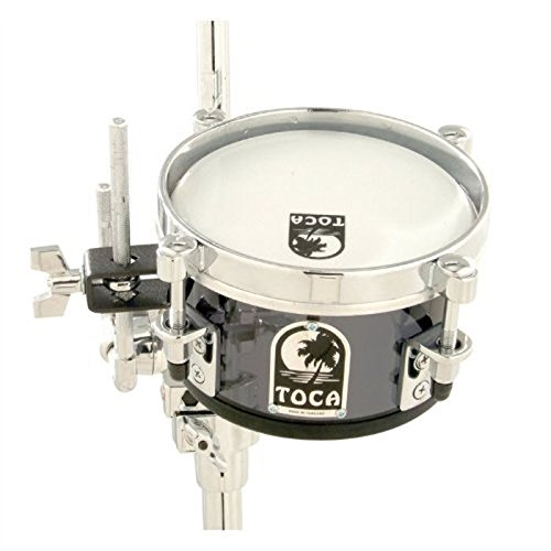 Toca Acrylic 8'' Mini Timbale - Smoke by Toca