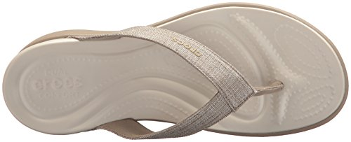 Gold Shimmer Capri Silver V Shoes Crocs 4wvYTqCw