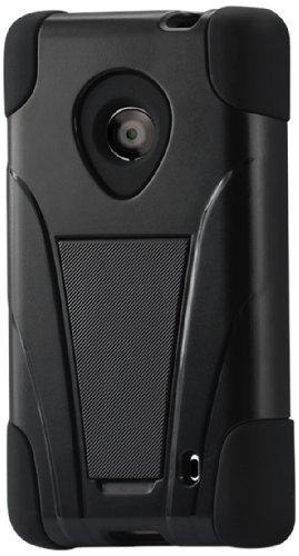 Reiko Silicon Case/Protector Cover for Nokia Lumia 520/521 - Non-Retail Packaging - Black