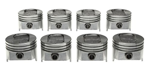 Windsor Cast (Sealed Power Speed Pro 1977-93 Ford 351 5.8L 351W Windsor Cast Piston Set of (8) STD 4.00