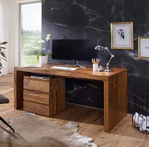 TG Furniture Jesphr Wooden Study Table/Desk Table/Laptop Table in Solid Sheesham Wood