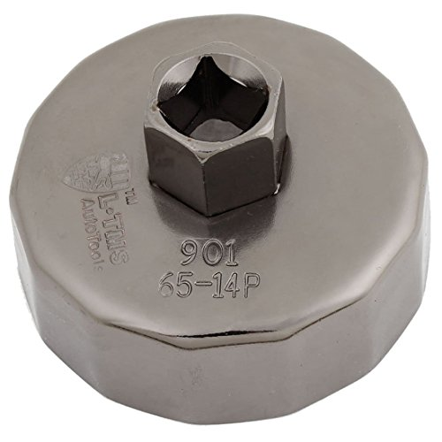 Oil Filter Cap Wrench - SODIAL(R) Cap Oil Filter Socket Wrench Cup Tool 65mm ID 14 Flutes