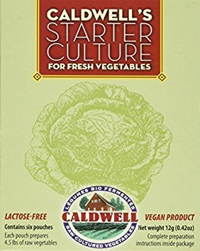 Vegetable Starter Culture Six pouches 12g (2-Pack)