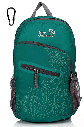 Outlander 20L/33L- Most Durable Packable Lightweight Travel Hiking Backpack Daypack (Dark Teal, 20L)