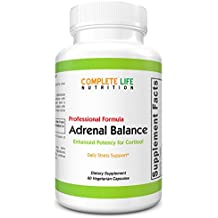Adrenal Balance Fatigue and Adrenal Support Supplement - Extra Cortisol Support for Women, Moms, Nurses, Teachers - Easy to Swallow - Daily Adrenal Health Herbal Supplement - Stress Management