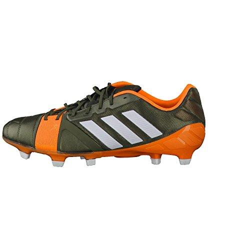 uk availability 90202 918c4 adidas Nitrocharge 1.0 TRX FG - Chaussures de Foot Vert Blanc Zeste Solaire