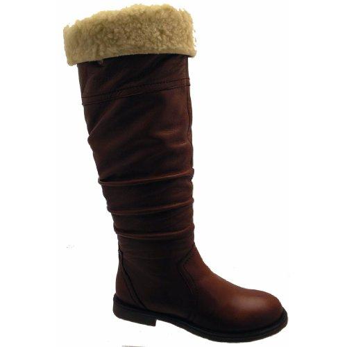 LE Boots Ladies Boot Riva BATUR Boots BRN Womens V16143 xHgH8vq7