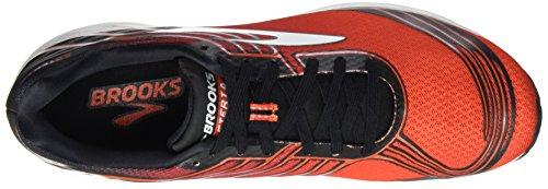 Brooks Asteria, Scarpe da Corsa Uomo Multicolore (Toreador/Cherrytomato/Black)