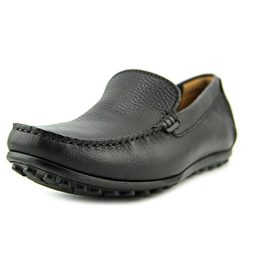Fusion Moc Toe (Clarks Men's Hamilton Free Driving Moc,Black Leather,US 12)