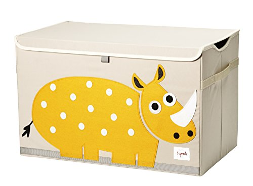3 Sprouts Kids Toy Chest - Storage Trunk for Boys and Girls ()