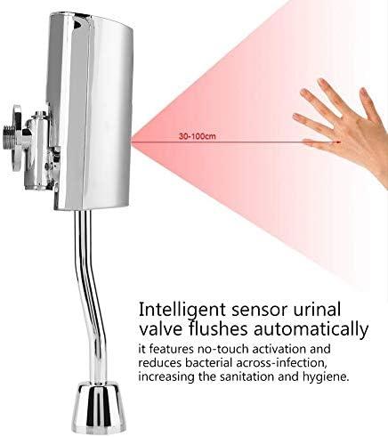 Jadeshay バスルームのトイレの壁には、自動センサータッチレス便器フラッシュバルブをマウント