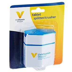 the Vitamin Shoppe Tablet Splitter/Crusher 1 Container (Vitamin Splitter)