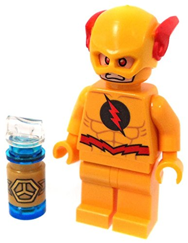 LEGO DC Comics Super Heroes Jusctice League Minifigure   Reverse Flash  (76098)