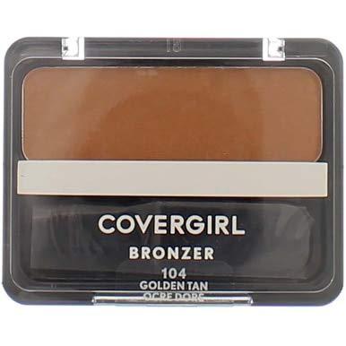 CoverGirl Copper Golden Tan 104 Cheekers Bronzer -- 3 per case.