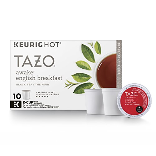 Tazo Awake English Breakfast Black Tea K-Cup (10 single-serve K-Cup Pods) -