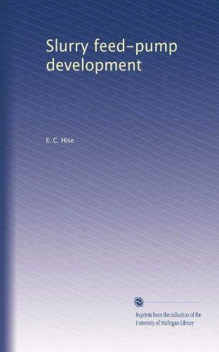 Slurry feed-pump development
