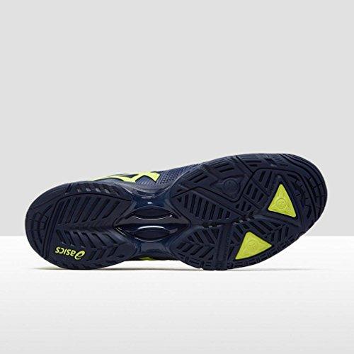 Asics Gel-Solution Speed 3, Zapatillas de Tenis para Hombre, Azul Oscuro/Amarillo Azul